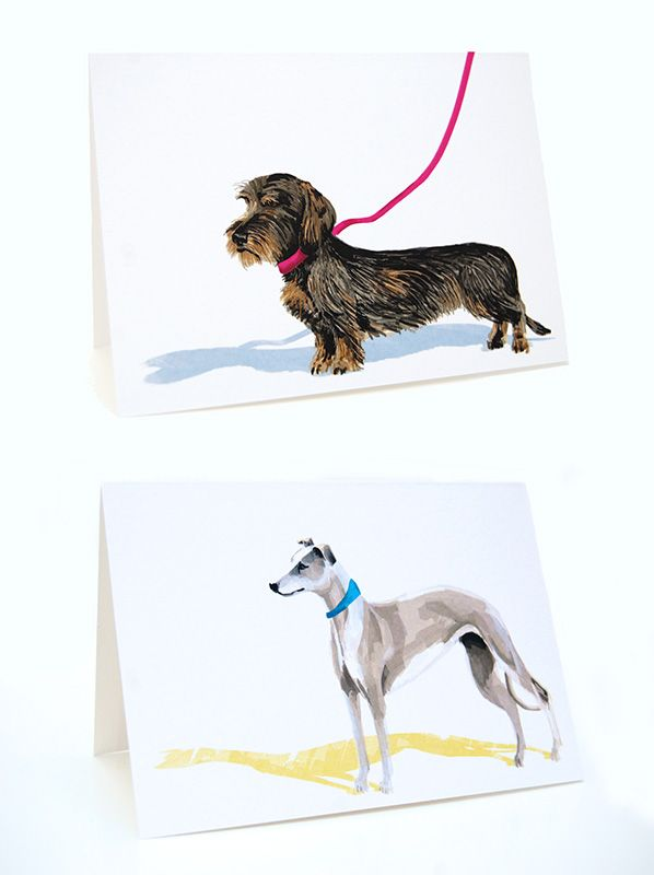 The pack dog greeting cards m4hsunfo